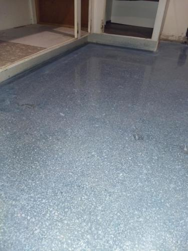 Terrazzo Dyed Blue